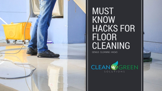 hacks for floor cleaning